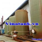 Xử lý nước thải từ bồn composite Vinatank